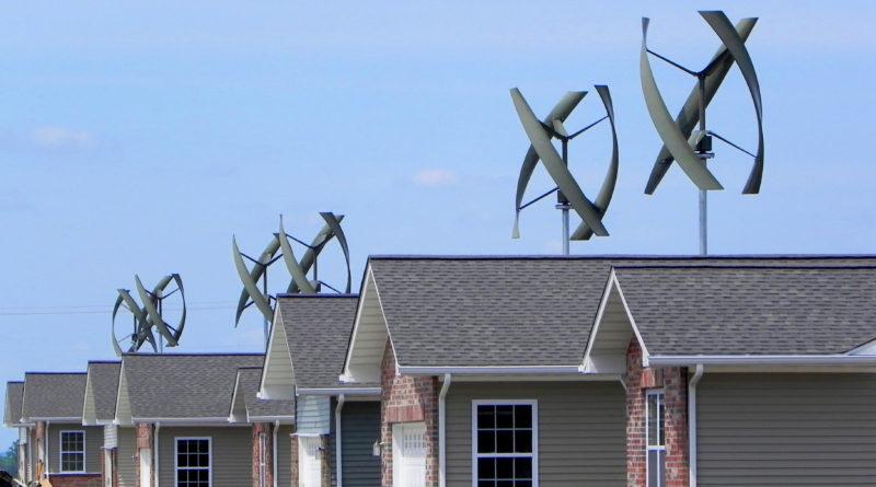 Yeloblade разрабатывает тихие ветряные турбины, которые можно установить на любую крышу
