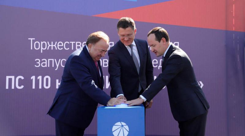 Александр Новак и Павел Ливинский запустили в Ингушетии стратегически важную подстанцию группы «Россети»