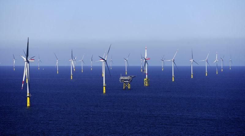 В Великобритании построят крупнейший в мире морской ветропарк