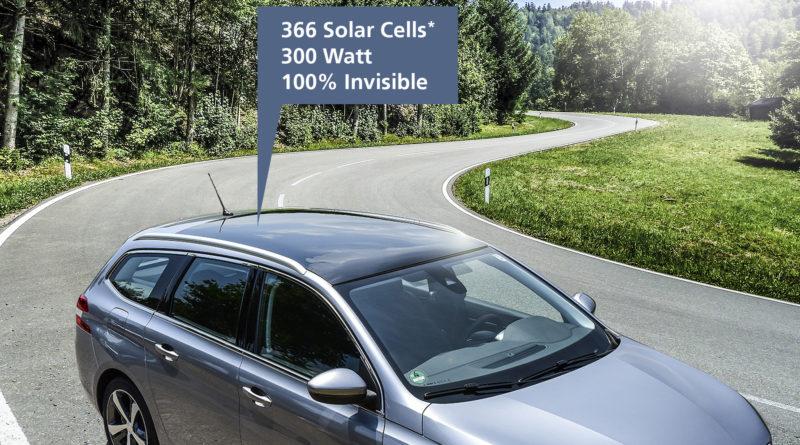 Fraunhofer ISE представляет невидимые солнечные крыши для транспортных средств