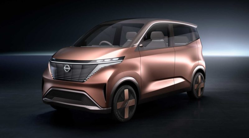 Электрокар Nissan научили делиться энергией