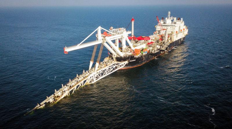 Дания выдала разрешение на строительство газопровода в своих территориальных водах