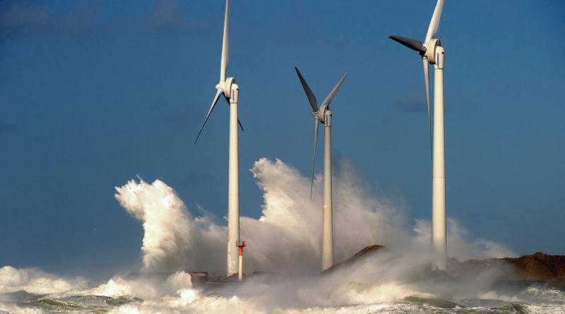 Ветровые электростанции для циклонных зон: новые стандарты и конструкции