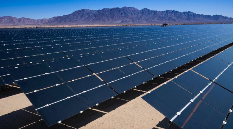 Цена на солнечную энергию в Калифорнии: 2,2 цента за кВт*ч