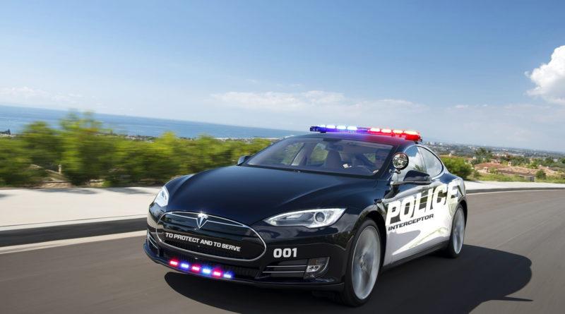 Полицейский на электромобиле не смог остановить преступника