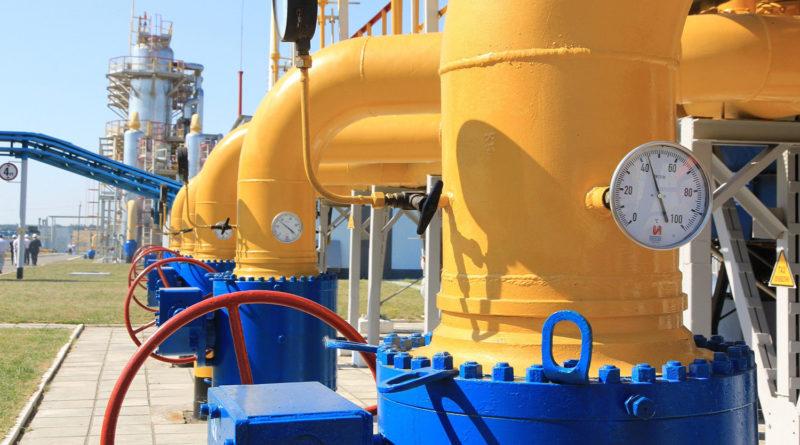 Запасы газа в хранилищах Украины достигли максимального за 10 лет объема