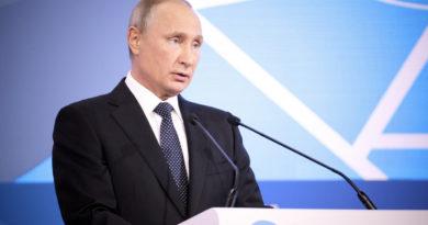 Президент Российской Федерации Владимир Путин принял участие в пленарном заседании Международного форума «Российская энергетическая неделя».