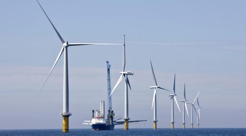 В США построят крупнейшую морскую ветровую станцию