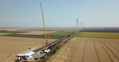 В Ростовской области началось строительство ветропарков