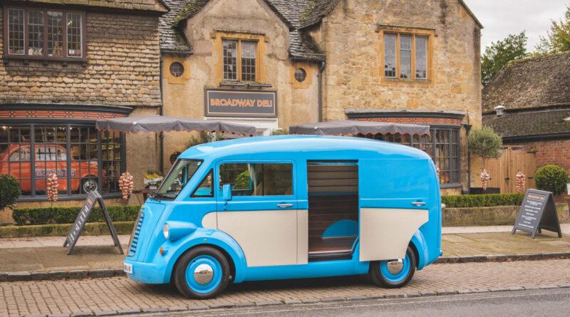 Электрический ретро-фургон возрождает марку Morris