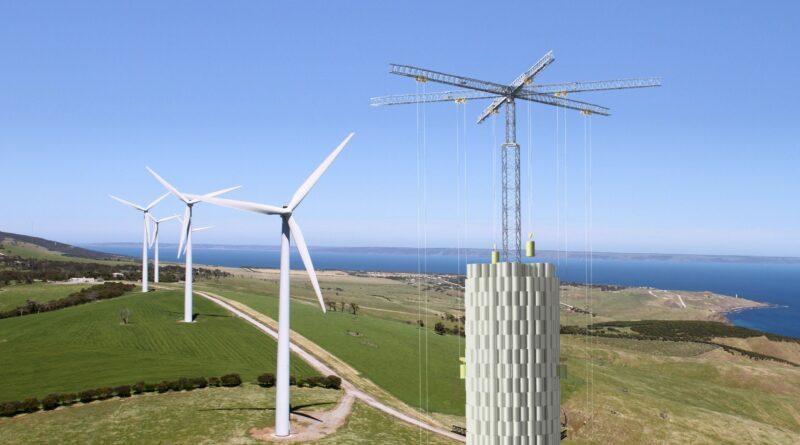 В Индии испытают систему хранения энергии на башенных кранах