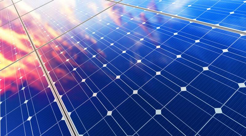 Солнечная фотоэлектрическая система для самостоятельного потребления, плавающая на оросительном плоту