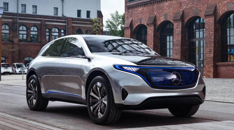 Старт продаж электрокроссовера Mercedes-Benz EQC отложен на год из за Tesla
