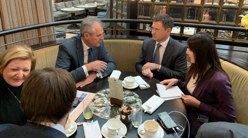 Александр Новак: Австрия является надежным партнером России в газовом сотрудничестве